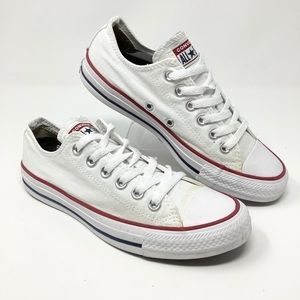 CONVERS low Chuck All White women shoes Size.7